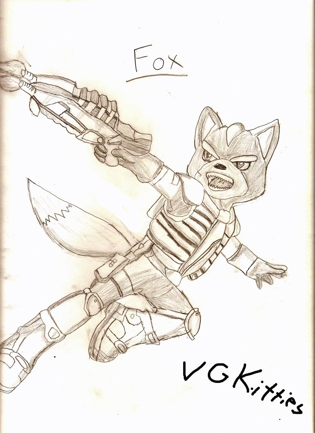 Star Fox by vgkitties