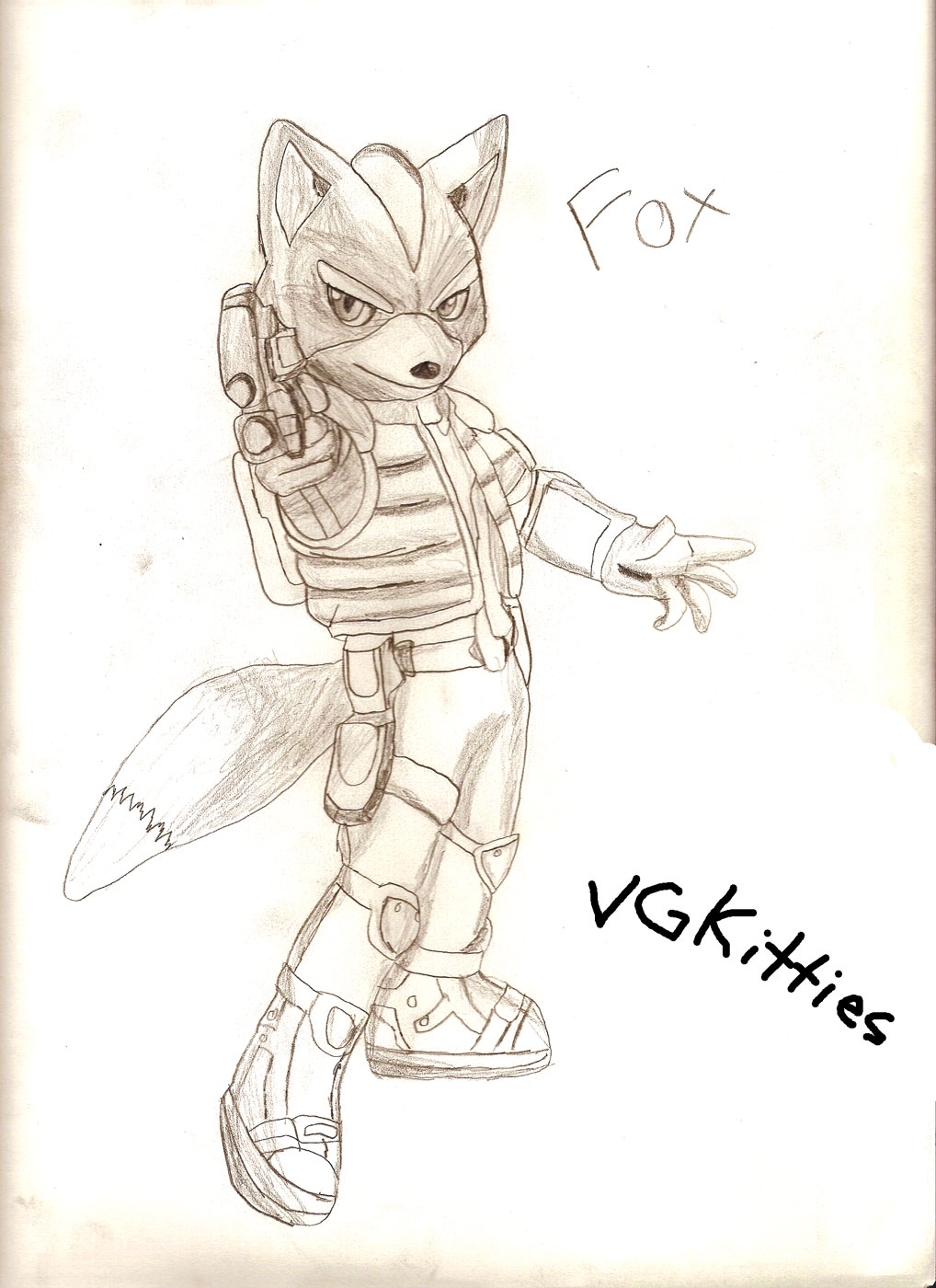 Fox Mcloud by vgkitties