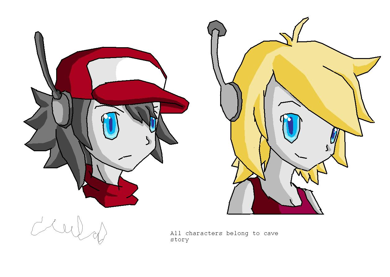 cave story paint :P by vgkitties