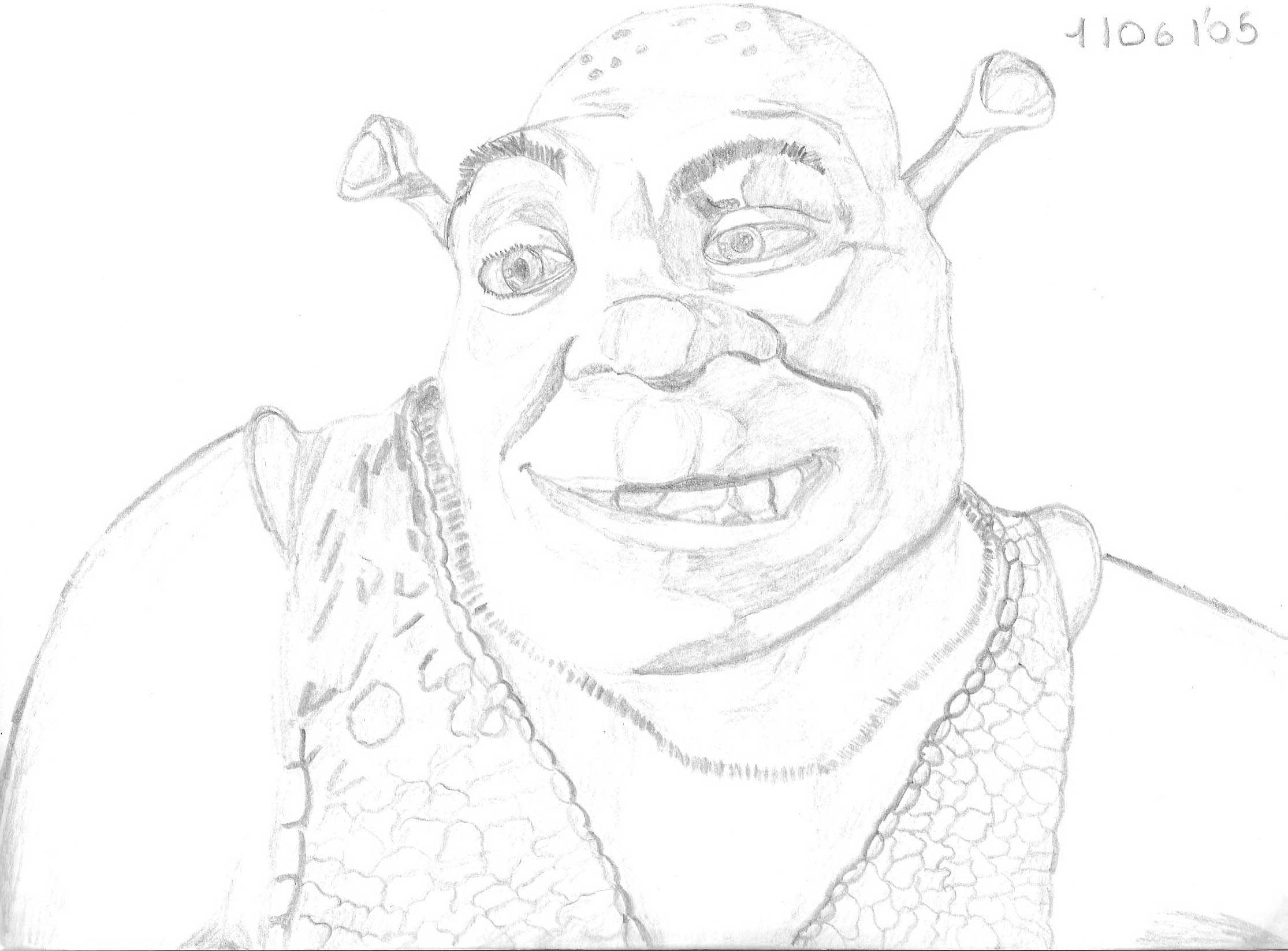 shrek!! :D by vickytje