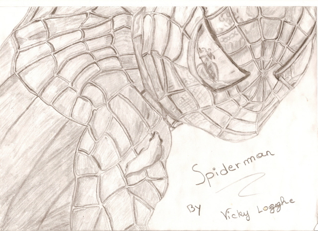 spiderman by vickytje