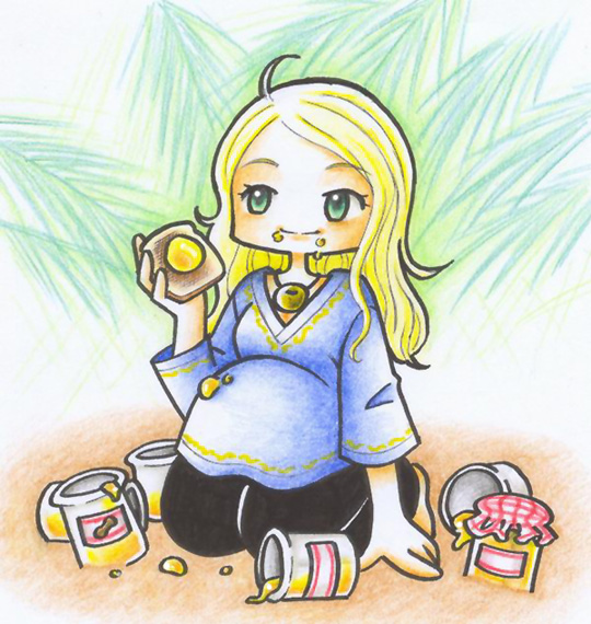 Claire feast by WTE