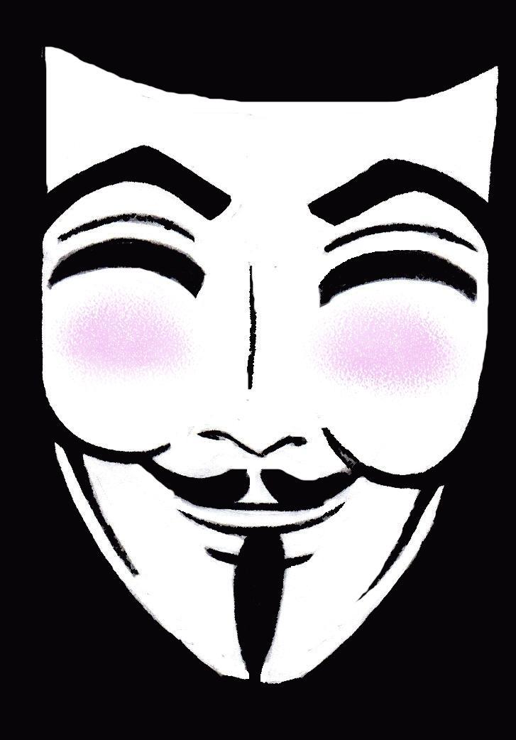 V's mask by WarAngel
