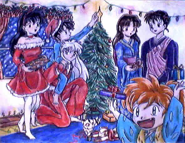 An Inuyasha Christmas by WaterGoddess