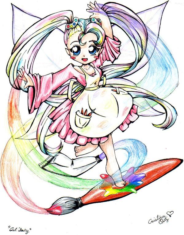 Art Fairy by WaterGoddess