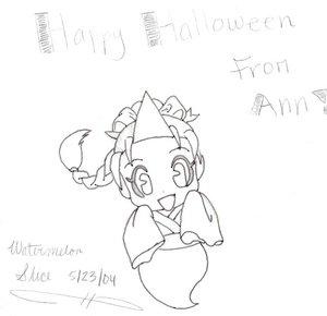 Halloween Ann by Watermelon_Slice