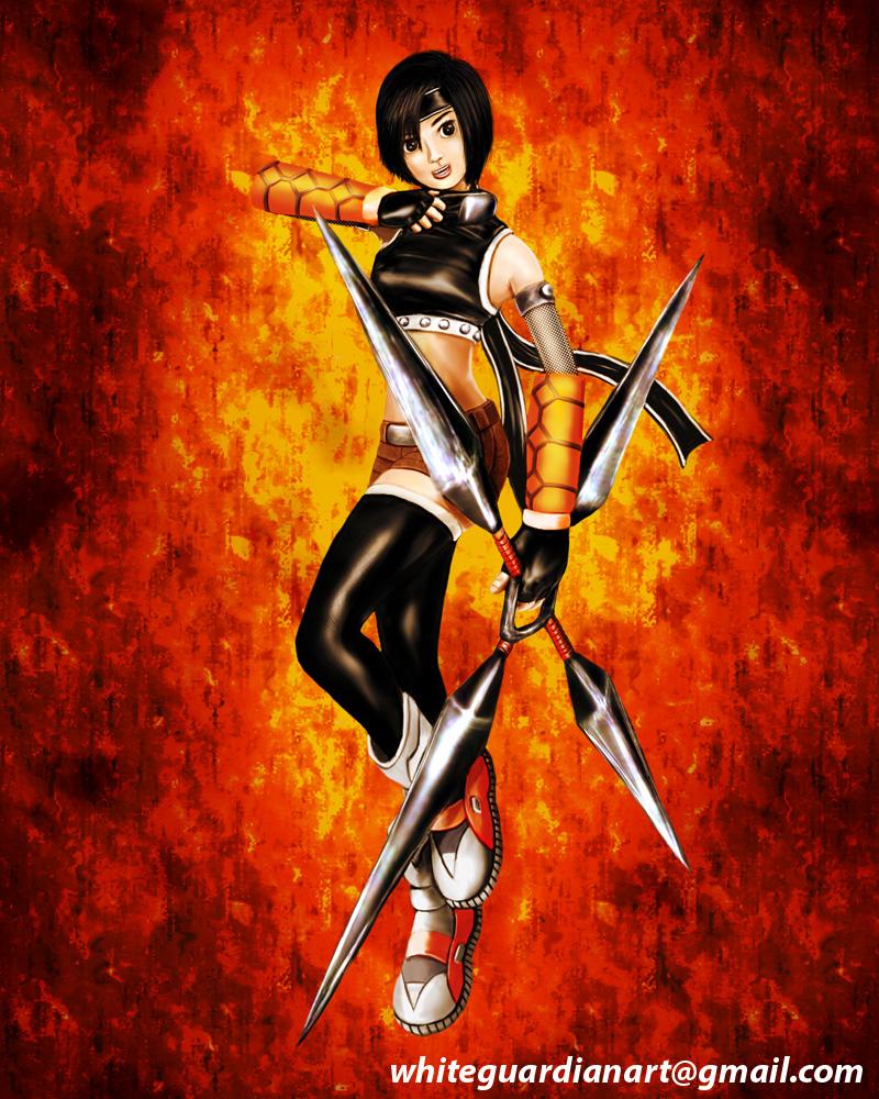 Yuffie Kisaragi by WhiteGuardian
