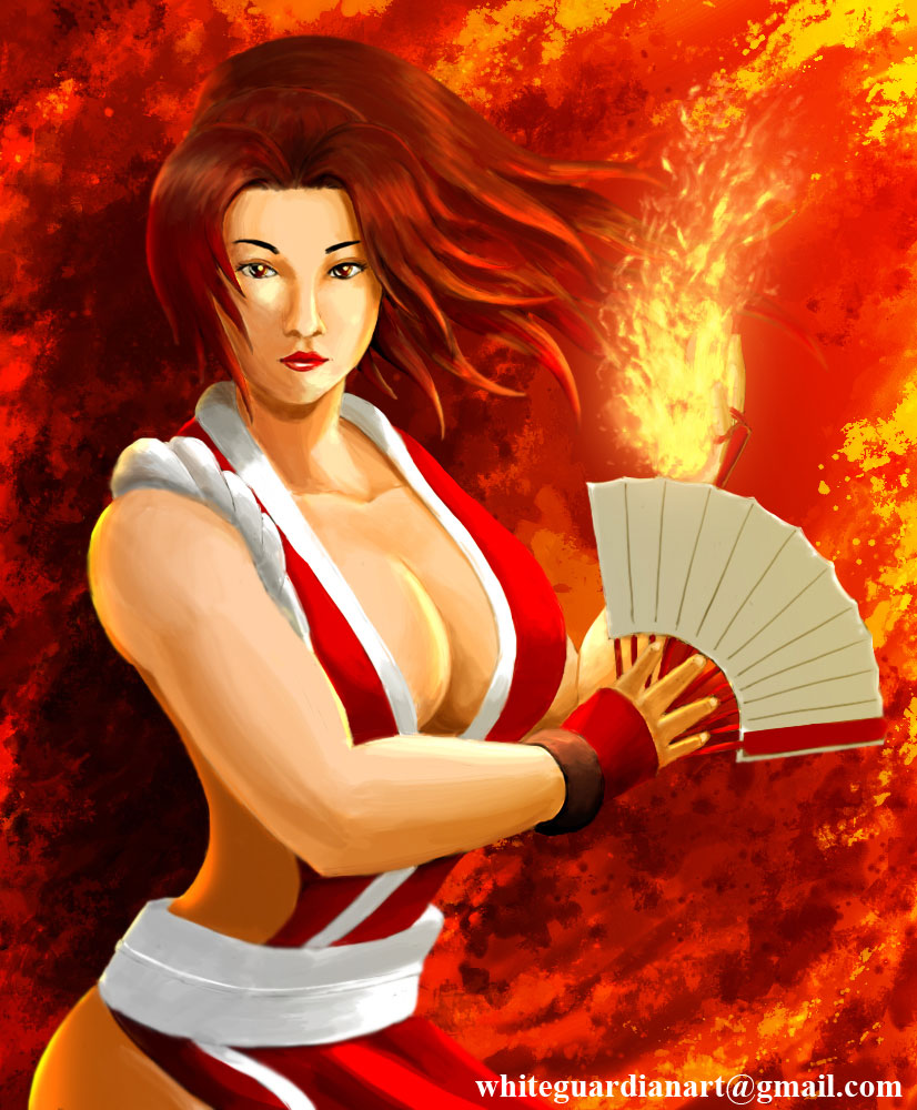 Mai Shiranui by WhiteGuardian