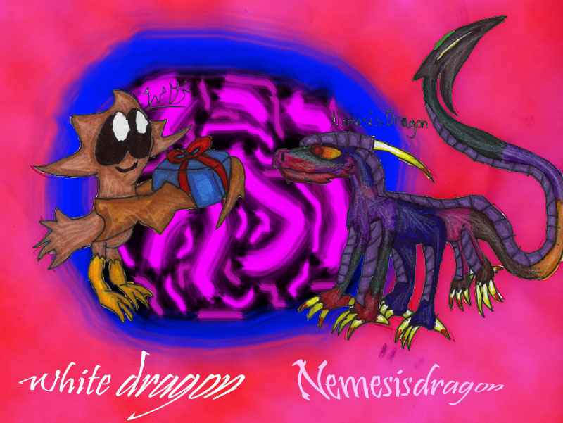 *Gift art For Nemesisdragon* by White_Dragon