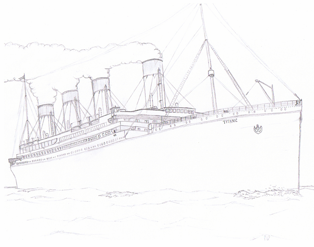 titanic by Wichy