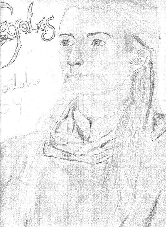 Legolas by Wilya