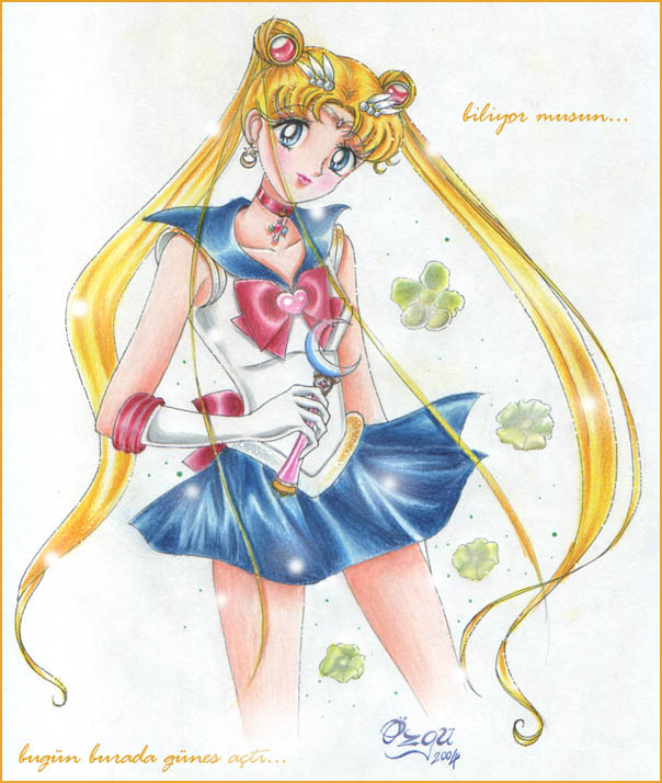 *Manga Style Sailor Moon* by WindraceR