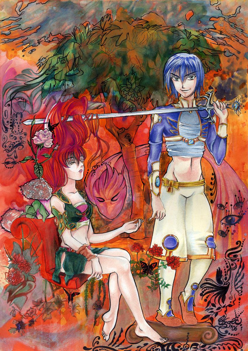 In The Garden of Eden by WindraceR