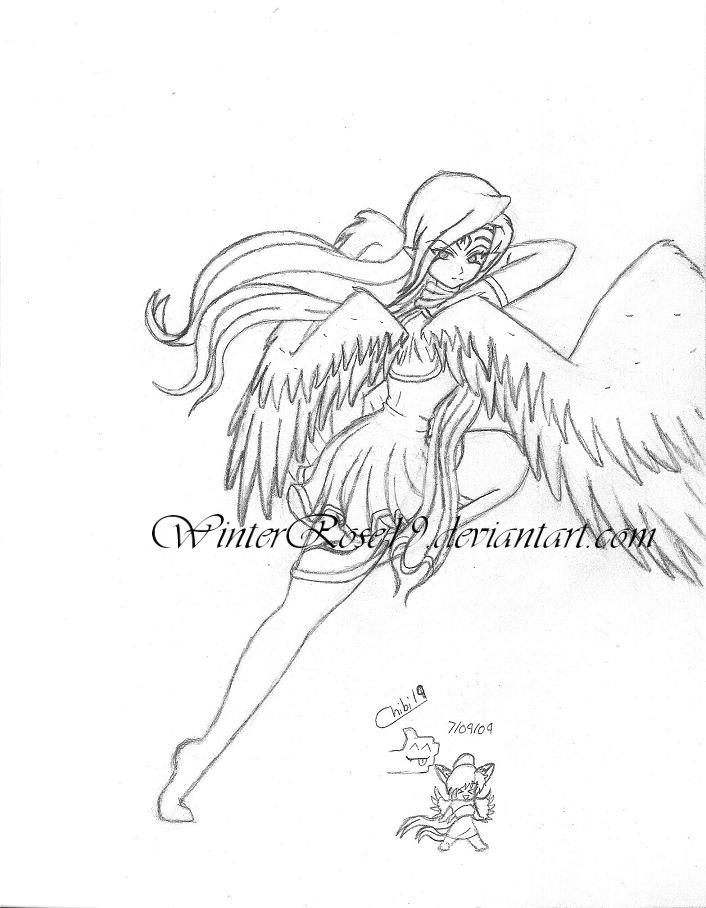 Angel of Darkness by WinterRose19