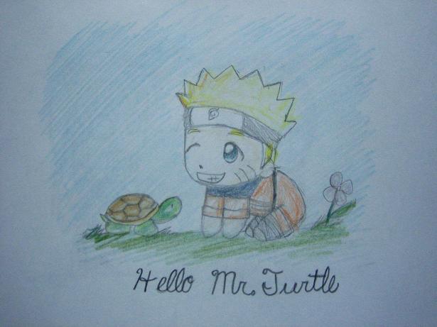 Hello Mr. Turtle! by Winter_Breeze