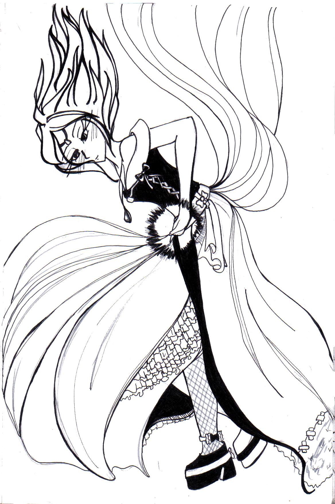 Sorceress's Magic by WintersxxPhoenix