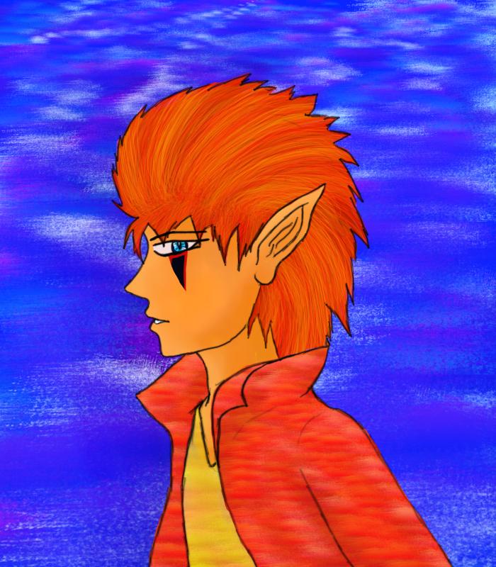 elf dude by Wishsayer