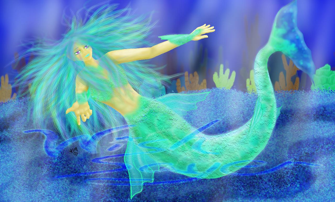 my first mermaid by Wishsayer