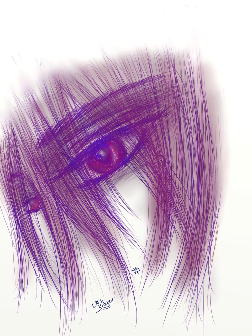 eye sketch by Wishsayer