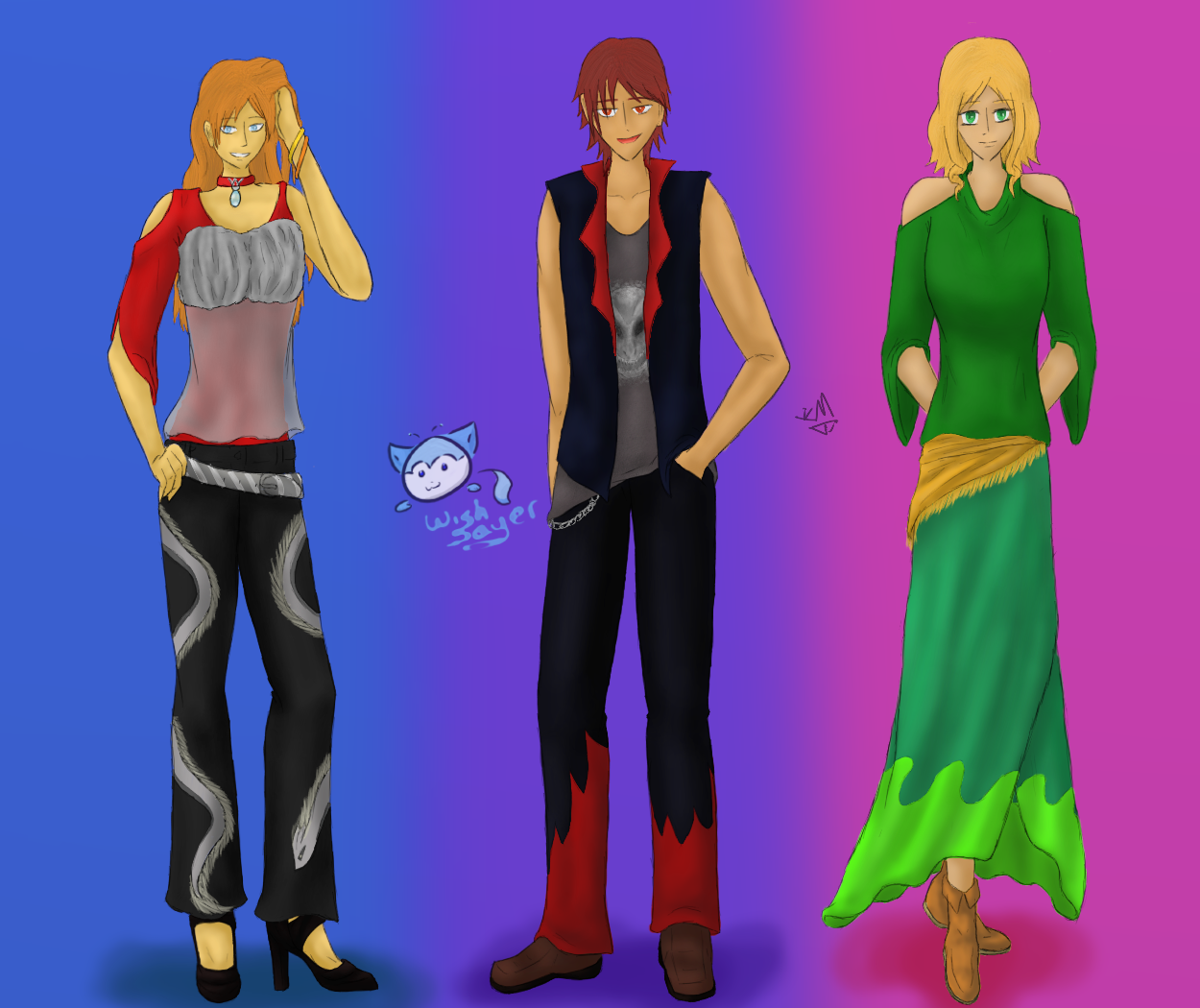 in a fashion mood 6, 7, and 8 by Wishsayer