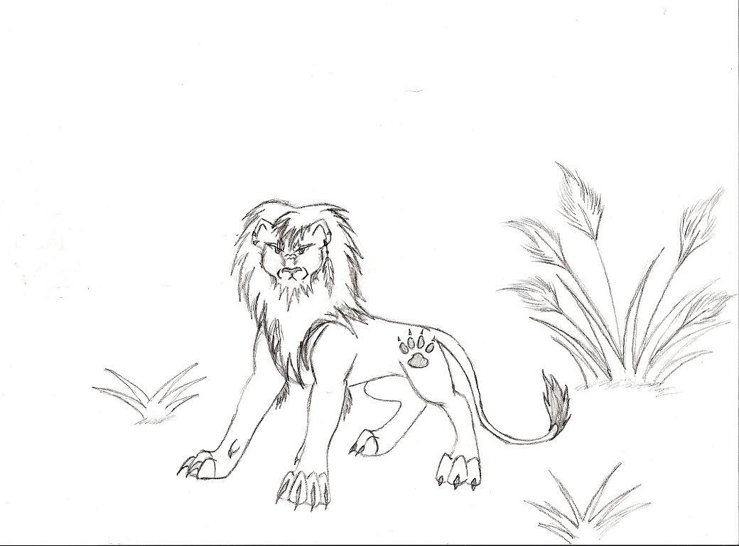 Lion by WolfZakuro