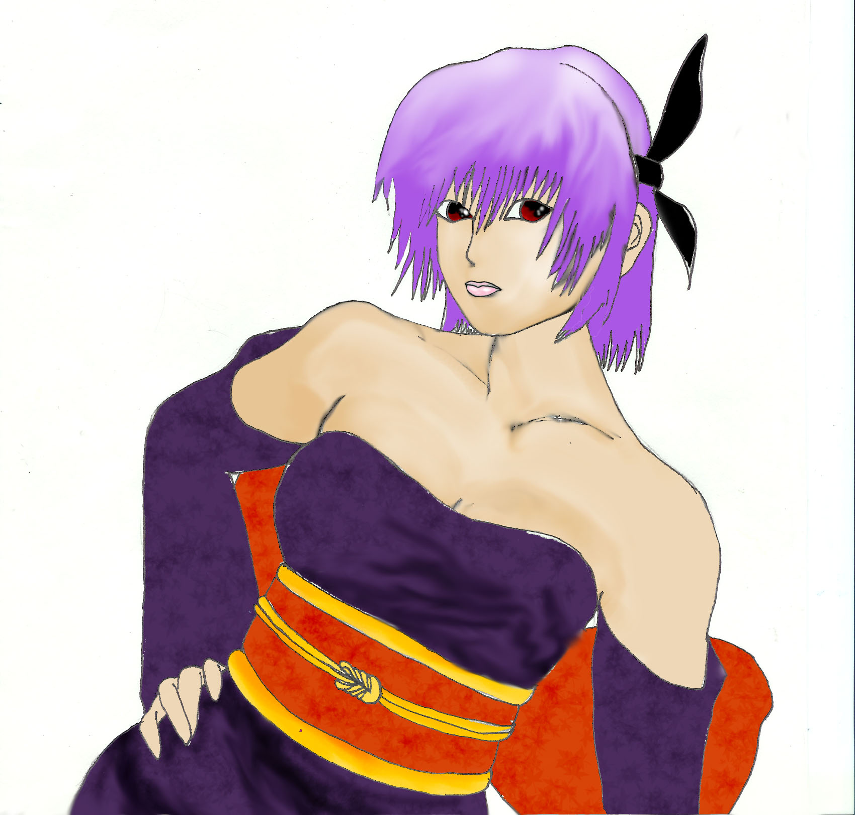Ayane(for the fans) by WolfenSerenity