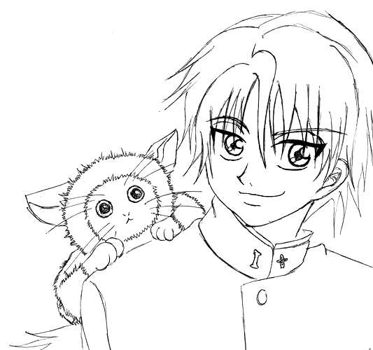 Ryoma's Sweetness by WolframVonnyField