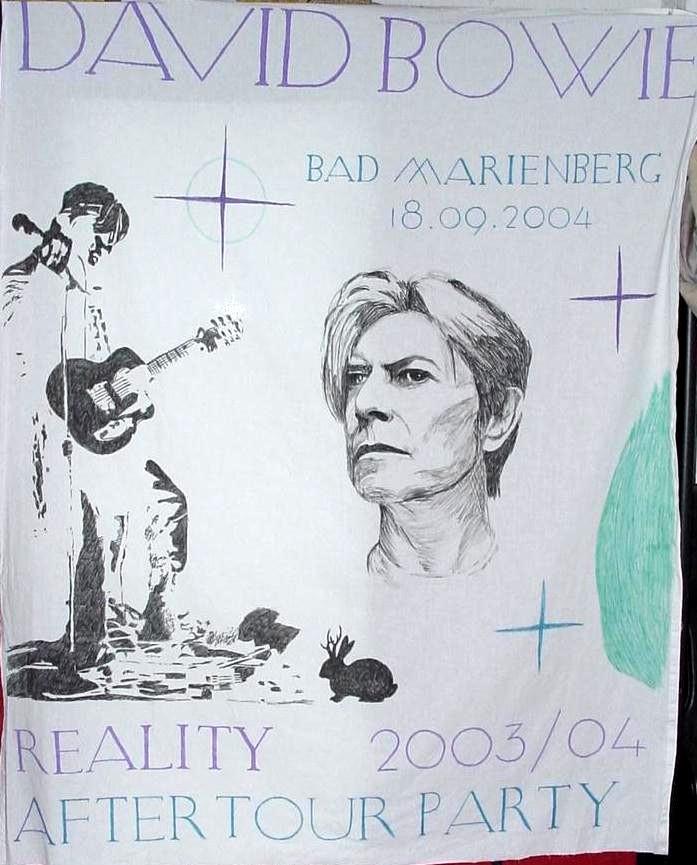 David Bowie Sheet by Woolf20