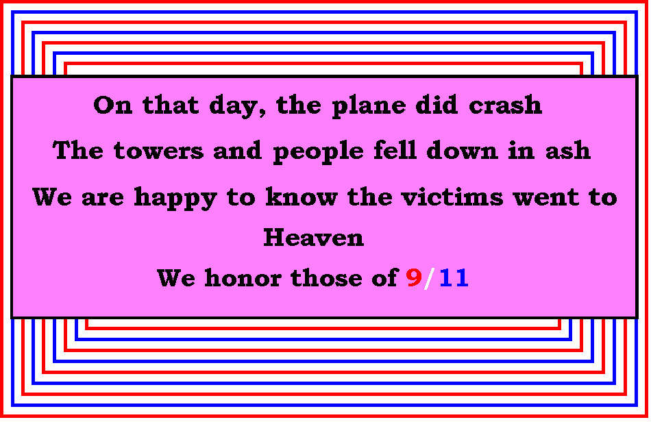 For the Victims of 9/11 by Wraithgirl911