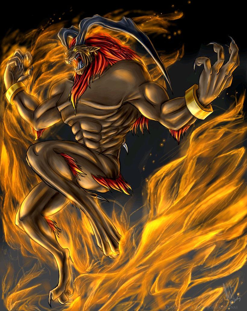 Hellfire (Final Fantasy VIII) by WynaHIros
