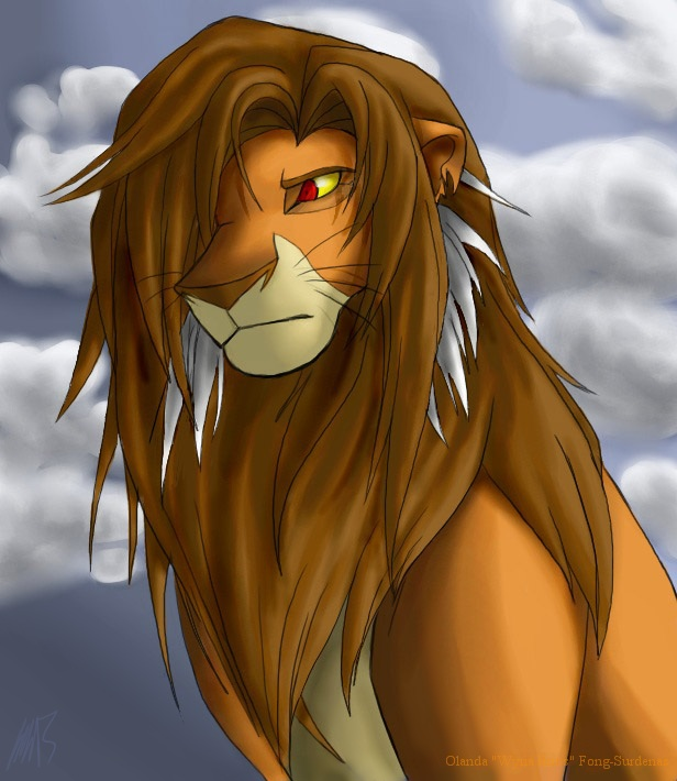 M'geni (Random Lion King Chara I made up) by WynaHIros
