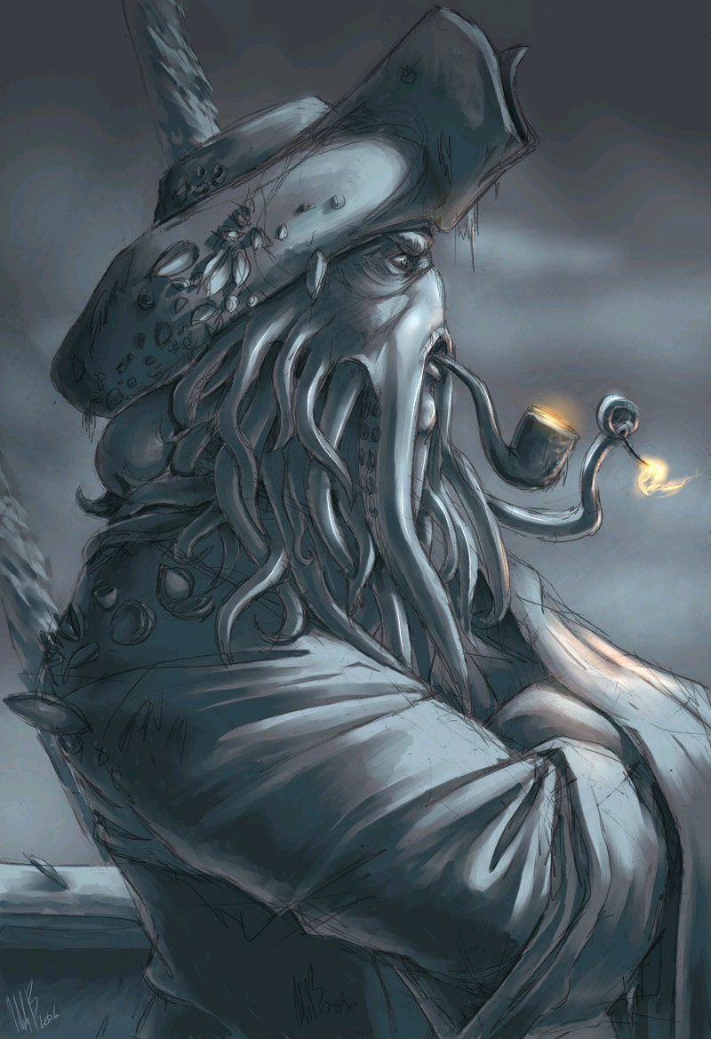 Davy Jones (POTC) by WynaHIros