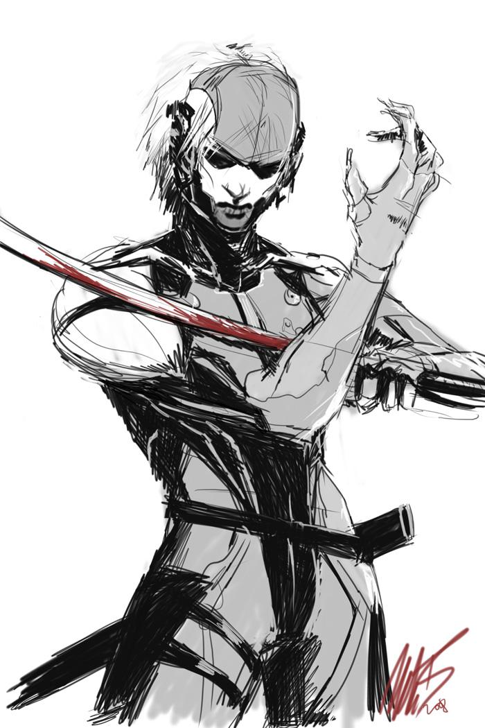 Metal Gear Solid 4 - Raiden by WynaHIros