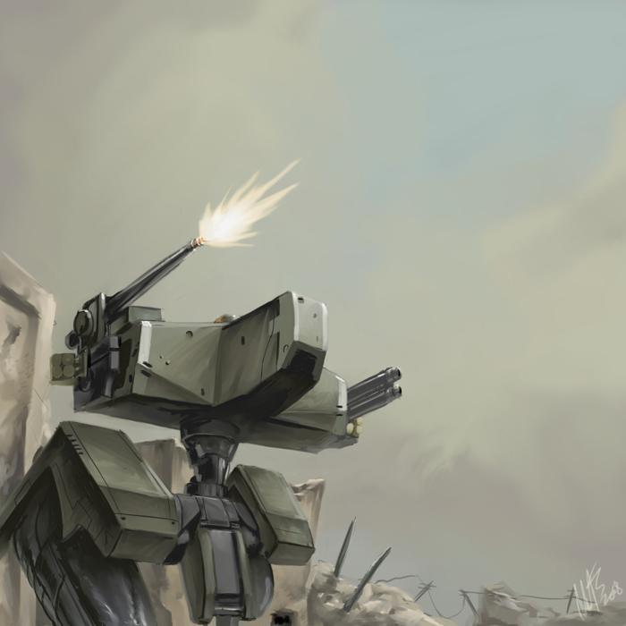 Metal Gear Solid 4 - GEKKO by WynaHIros