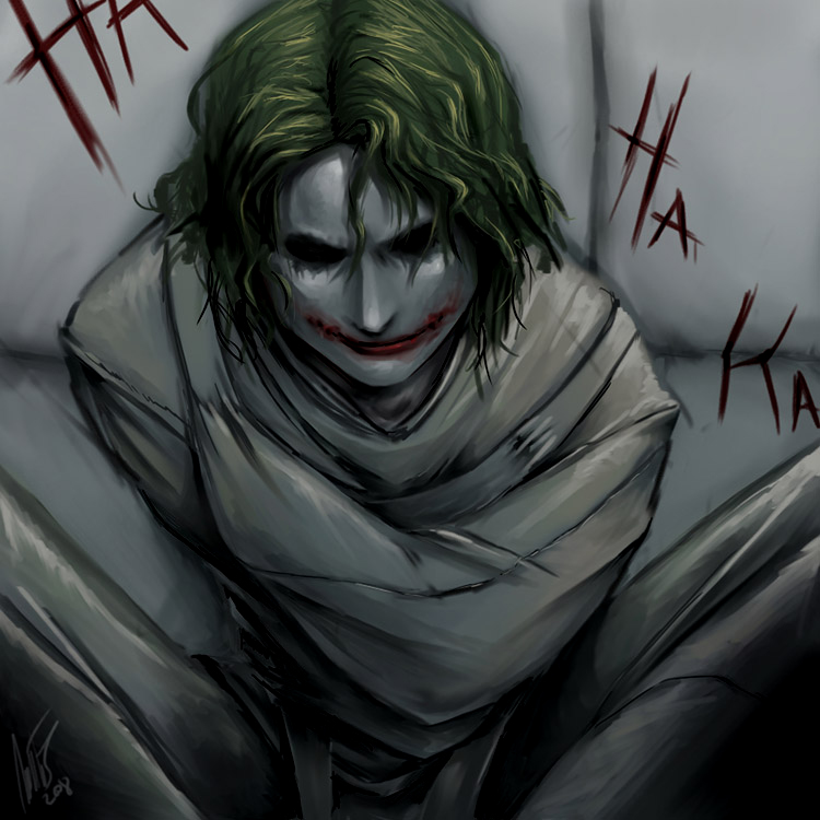 Batman TDK - Joker by WynaHIros