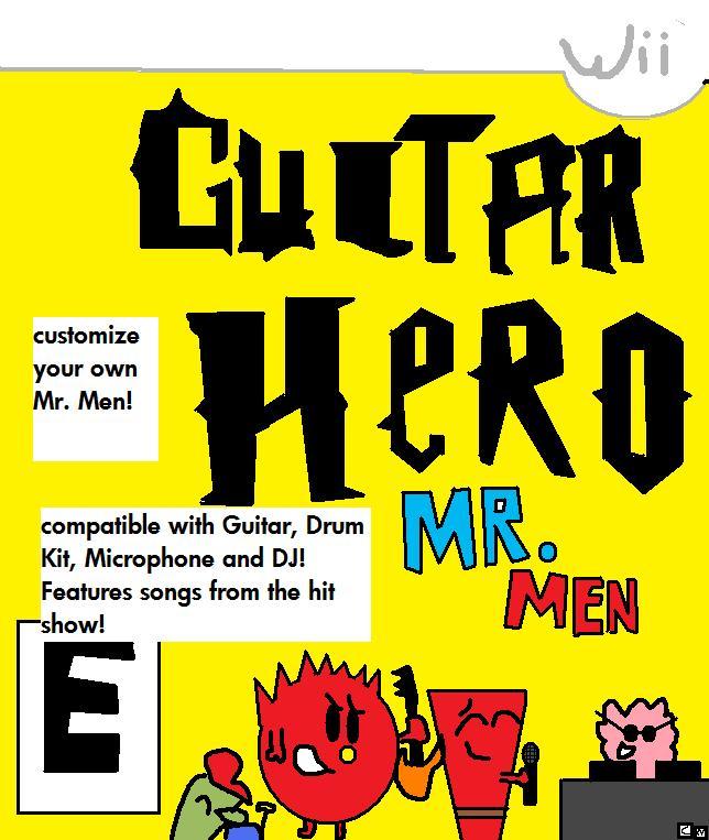 Guitar Hero: Mr. Men by waluigiguy22