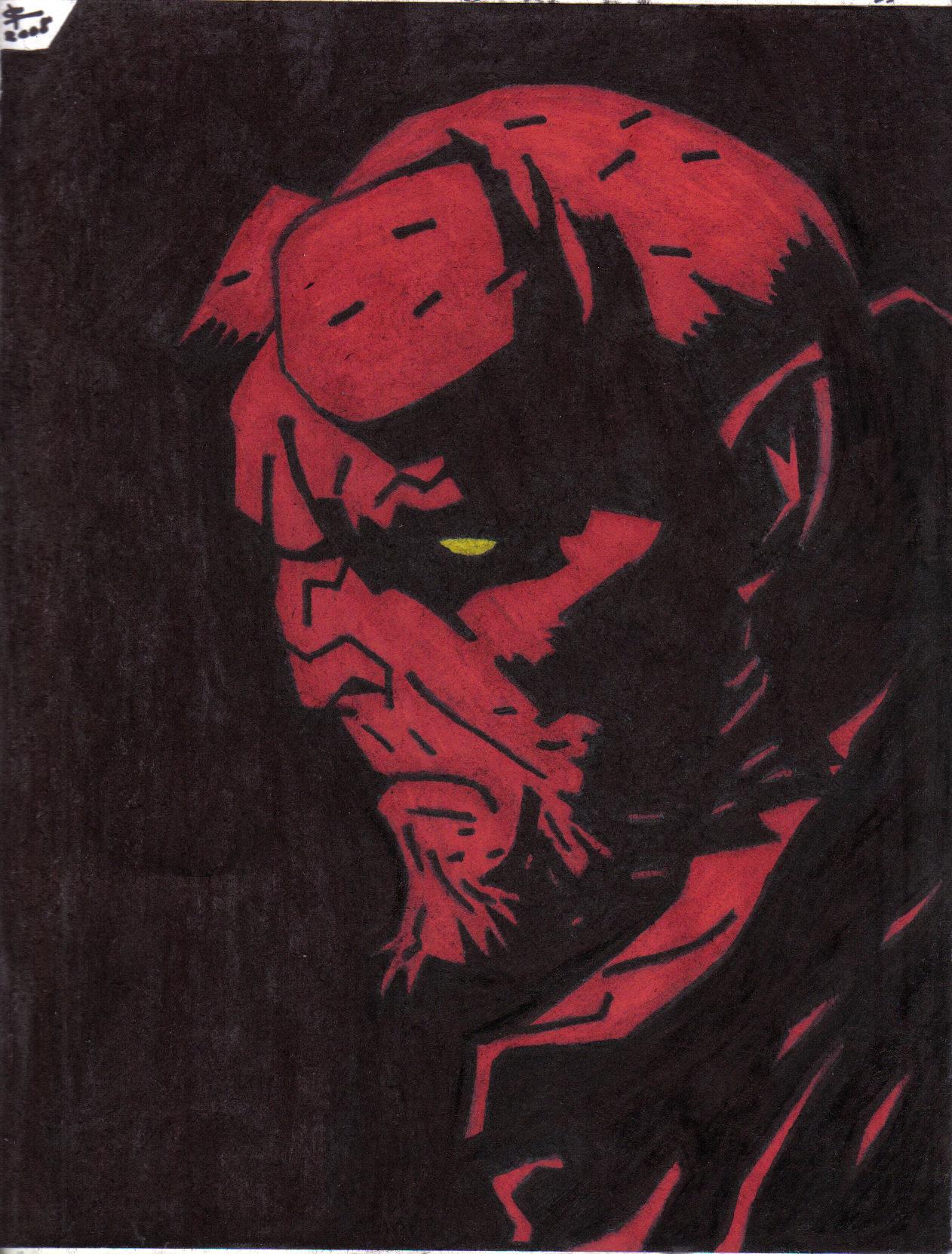 Hellboy by weewoo