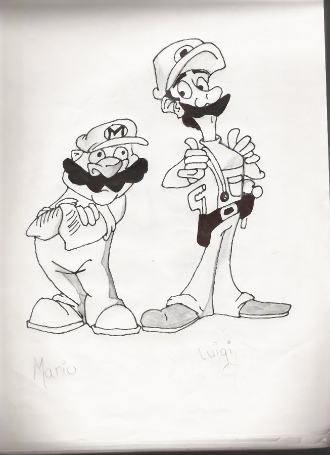 mario bros. by werewolves_of_darkness_and_lig