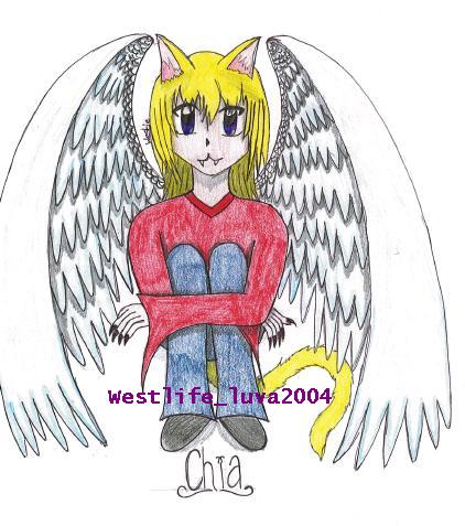 Chia .:Art Request:. by westlife_luva2005