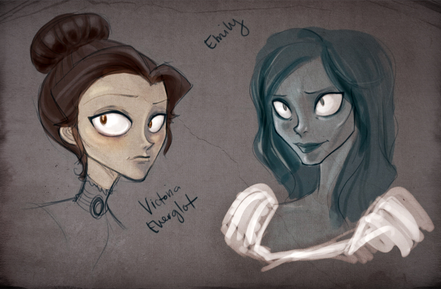 Victoria and Emily by wicked_circe