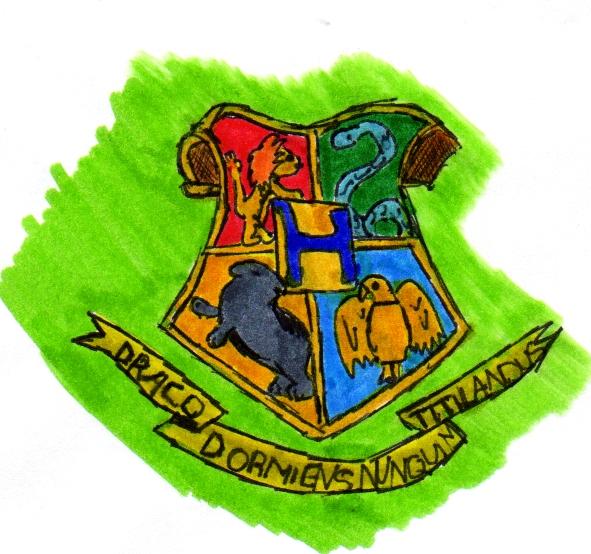 Hogwarts Crest by wild_spirit