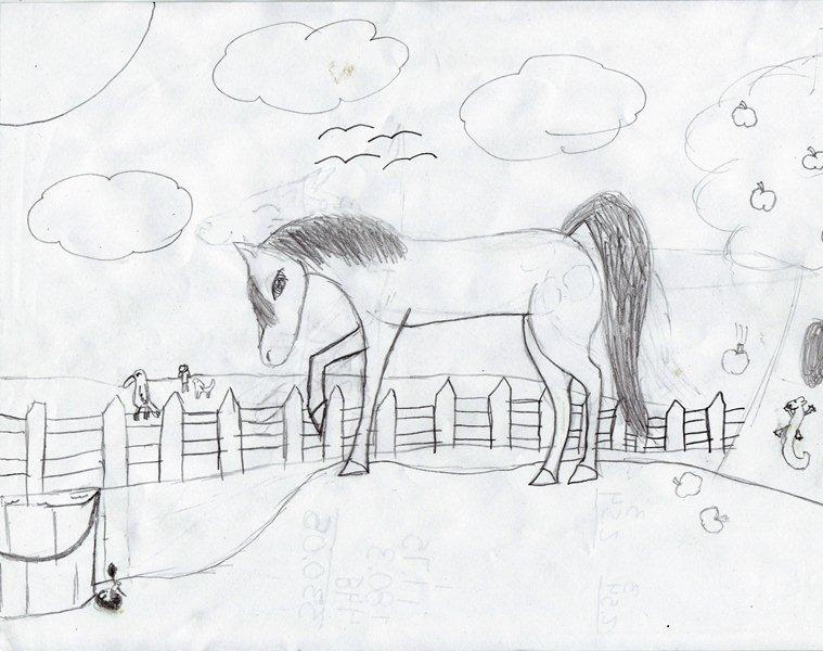 Horse by wildkratt7