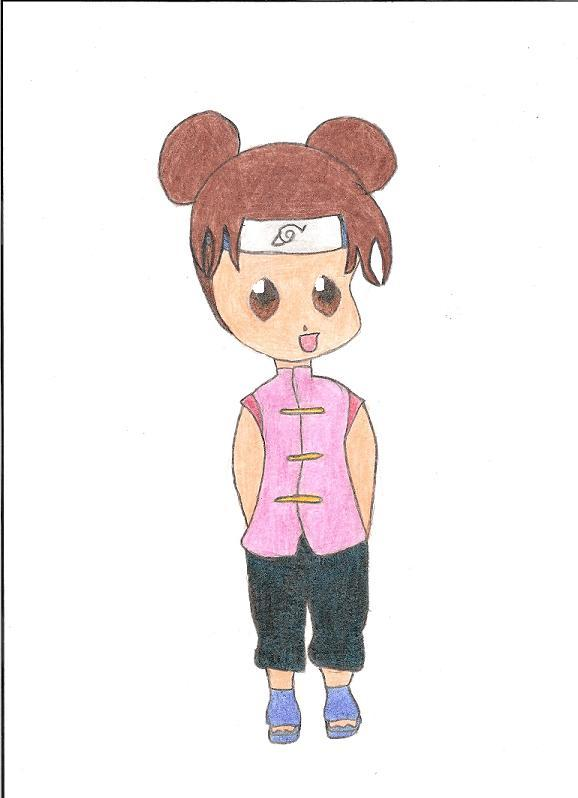 Chibi Ten-Ten by winxgirl21