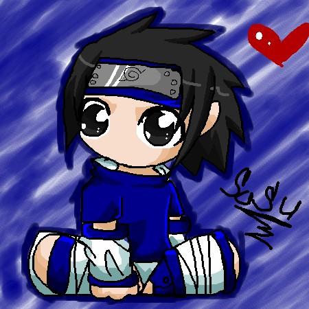 Sasuke chibi by wolfgirl022