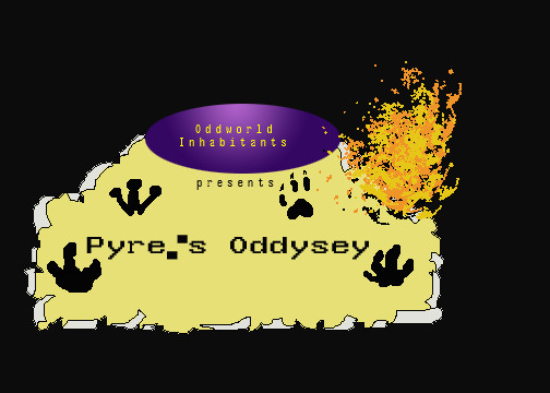 Pyre's Oddysey logo by wolfmoon