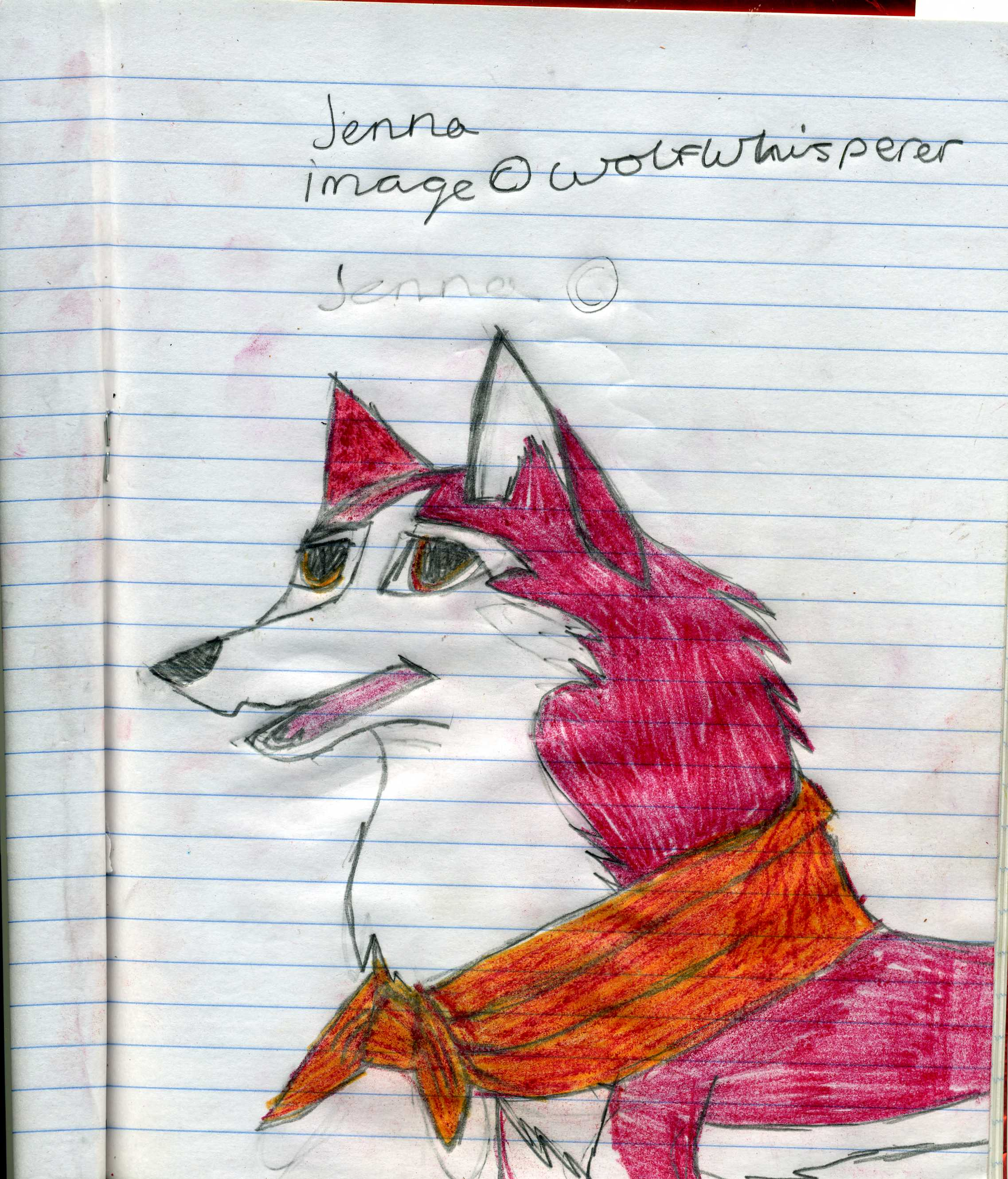 jenna by wolfwhisperer