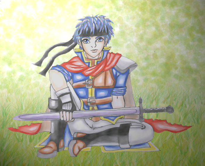 Ike In Serenes by wolfymewmew