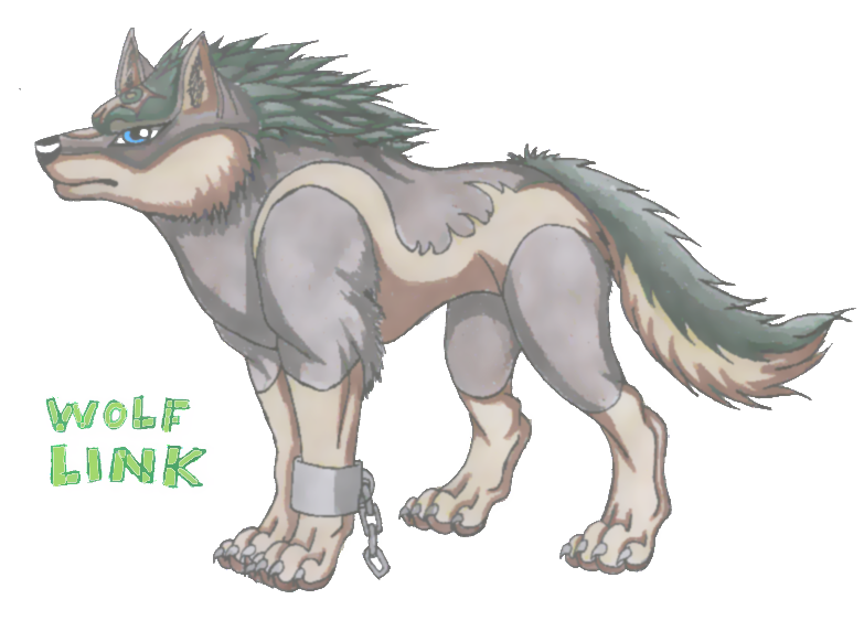 Wolf Link by wolfymewmew
