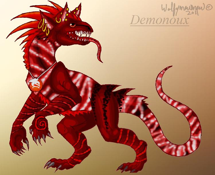 Demonoux by wolfymewmew