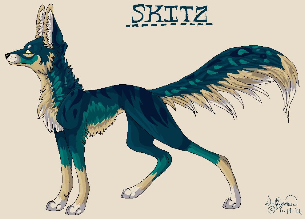 Skitz by wolfymewmew